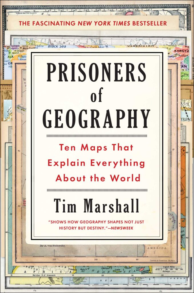 Prisoners of geography cover